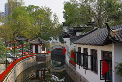 Rue en stationnement 5 de Changhong images libres de droits