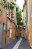 Rue en vieil EN Provnece d'Aix Image libre de droits