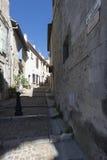 Rue Ernest Renan, Arles, Γαλλία Στοκ Εικόνες