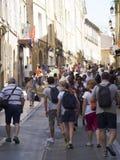 Rue Espariat Aix-en-Provence, França Fotografia de Stock Royalty Free