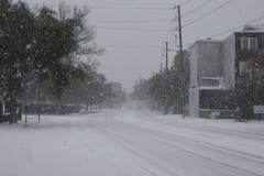 Rue est de baie, Charleston, Sc Photo libre de droits