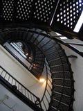 rue Etats-Unis de phare de la Floride d'augustine photo stock