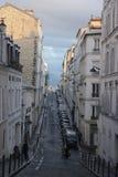 Rue européenne Photo libre de droits