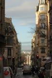 Rue européenne Photo stock
