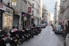 Rue européenne Photos stock