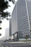 Rue financière de Pékin. Photographie stock libre de droits