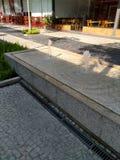 Rue - fontaine d'eau Image libre de droits