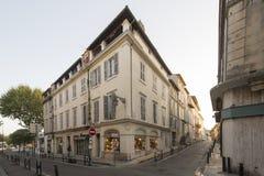 Rue Gambetta, Arles, Γαλλία Στοκ Φωτογραφία