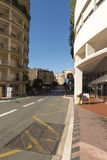 Rue Grimaldi, Monaco. Stock Image
