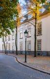 Rue historique en Hollandes Photographie stock