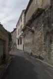 Rue Hoche i Helgon-Rémy-de-Provence, Frankrike Royaltyfri Bild