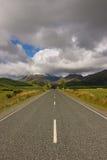 Rue infinie en Nouvelle Zélande Image stock