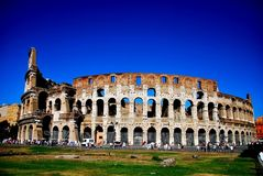 Rue Italie de Rome photo stock