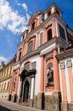 Rue John de Nepomuk, Kutna Hora, République Tchèque photographie stock libre de droits