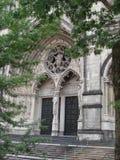 Rue John l'église divine Photos libres de droits