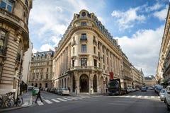 Rue La Fayette, Parigi fotografie stock libere da diritti