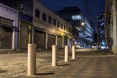 Rue la nuit image libre de droits