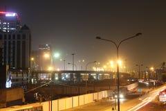Rue Lagos Nigéria de marina Image libre de droits