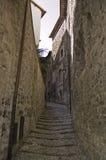 Rue médiévale Images libres de droits