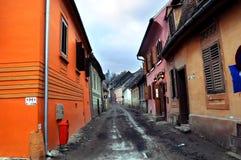 Rue médiévale Images stock