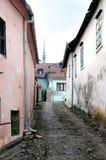 Rue médiévale Photographie stock libre de droits