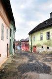 Rue médiévale Photo libre de droits