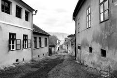Rue médiévale Photos stock