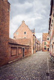 Rue médiévale européenne Image libre de droits