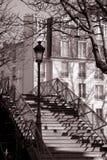 Rue Martin de canal à Paris ; La France Images libres de droits