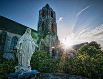 Rue Mary la Vierge chez les Bahamas Photo stock