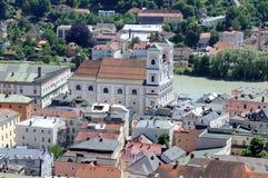 Rue Michael/Passau photos libres de droits