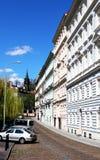 Rue mignonne de Prague images libres de droits
