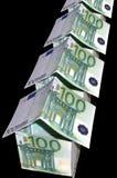 Rue monétaire Photo libre de droits