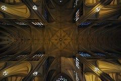 rue neuve York de patrick s de cathédrale Photo libre de droits