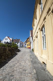 Rue norvégienne Image stock