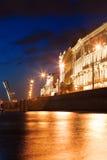 Rue - Pétersbourg Images libres de droits