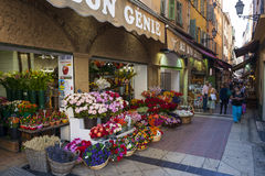 Free Rue Pairoliere In Nice, France Royalty Free Stock Image - 51418366