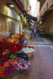 Rue Pairoliere in Nice, France Royalty Free Stock Photos