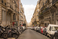Rue parisienne Photo stock