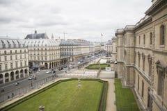 Rue parisienne Photo libre de droits