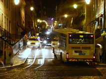 Rue passante Photos libres de droits