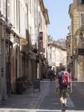Rue Paul Bert, Aix-en-Provence, França Fotografia de Stock Royalty Free