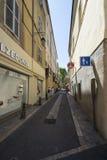 Rue Paul Dumer, Aix-en-Provence, França Imagem de Stock Royalty Free