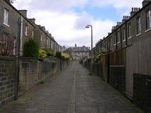 rue pavée en cailloutis Image stock