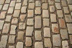 Rue pavée en cailloutis photos libres de droits