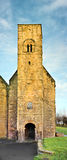 Rue Peter, Wearmouth, Angleterre. Images stock