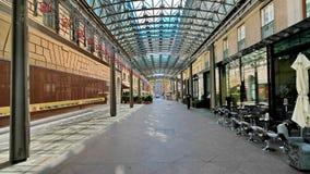Rue piétonnière d'achats à Vienne Image libre de droits