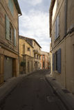 Rue Porte de Laure, Arles, France Royalty Free Stock Photos