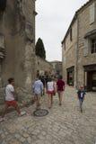 Rue Porte Mage, Les Baux-de-Provence, France Royalty Free Stock Image