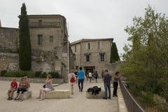 Rue Porte Mage, Les Baux-de-Provence, France Royalty Free Stock Photo